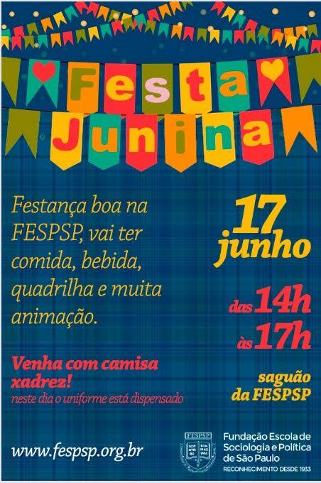 Festa junina na fesp